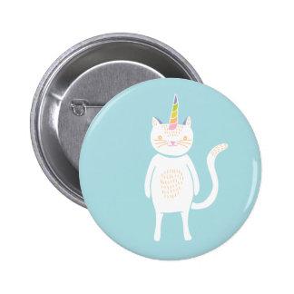 Kitty Unicorn Pinback Button