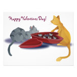 Kitty Valentines Personalized Announcement