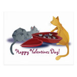 Kitty Valentines Postcards