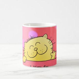 Kitty Vote for Susan Fun Gift Classic White Coffee Mug