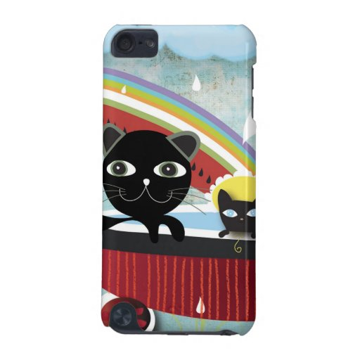 Kitty watermelon rainbow Speck Case iPod Touch (5th Generation) Case
