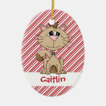 Kitty Whiskers Christmas Ornament
