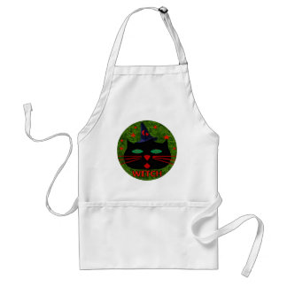 Kitty Witch Adult Apron