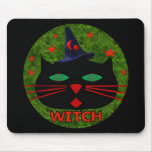 Kitty Witch Mouse Pads