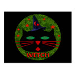Kitty Witch Post Card