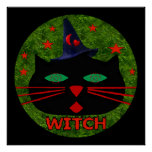 Kitty Witch Posters