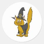 Kitty Witch Stickers