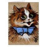 Kitty with a Bow Tie Greeting Card