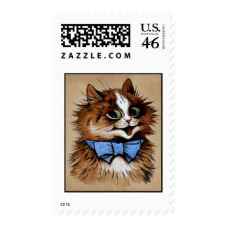 Kitty with a Bow Tie Postage Stamps
