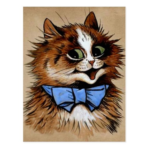 Kitty with a Bow Tie Postcard