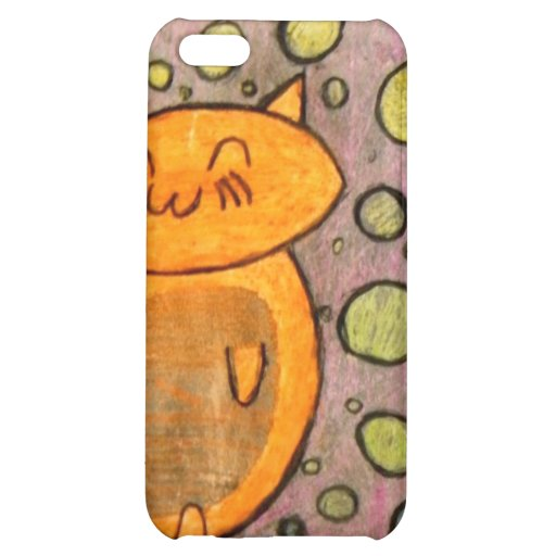 Kitty with Bubbles iPhone 5C Cover