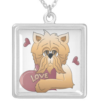 Kitty with Love Card Pendant