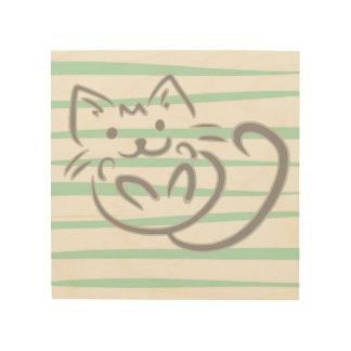 Kitty Wood Art