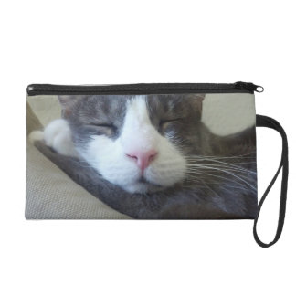 Kitty Wristlet Purse