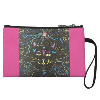 Kitty Wristlet Wallet
