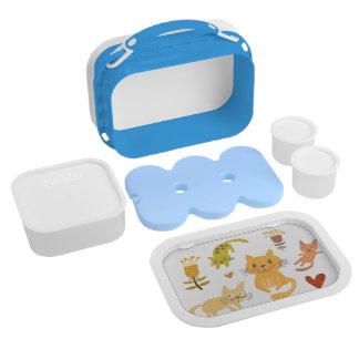 Kitty Yubo Lunchbox, Blue