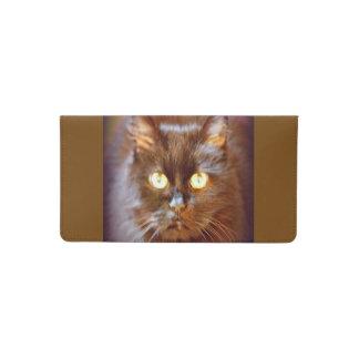 kittycat checkbook cover