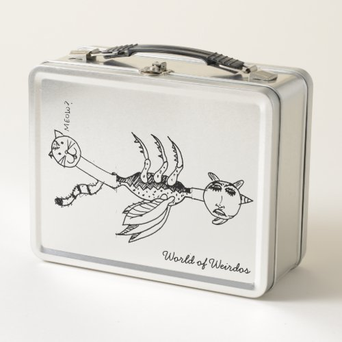Kittycorn Metal Lunch Box