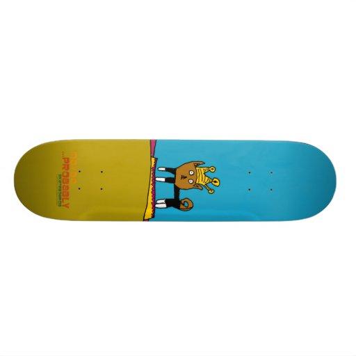 Kittydeck de la princesa, MaybeProbablyLogo_alone Tabla De Skate