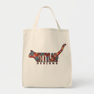 Kittyloaf Designs Grocery Tote Bag