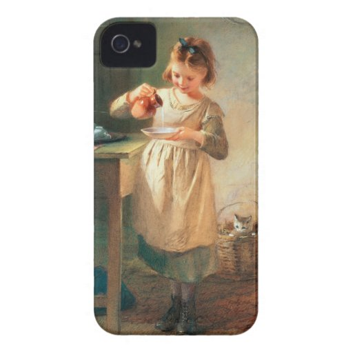 Kitty's Breakfast iPhone 4 Cover