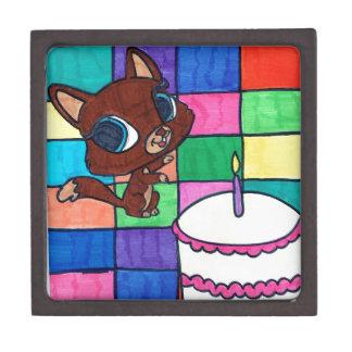 kitty's first birthday jewelry box