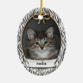 Kitty's First Christmas Holiday Ornament
