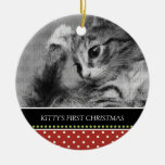 Kitty's First Christmas Keepsake Ornaments