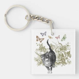 Kitty's Garden Keychain