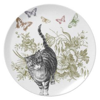 Kitty's Garden Party Plates