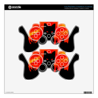 Kitty's Harvest Moon Skins For PS3 Controllers