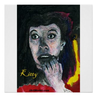 Kitty's Poster print