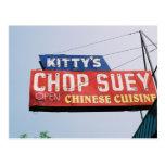 Kitty's Shop Suey Postcard