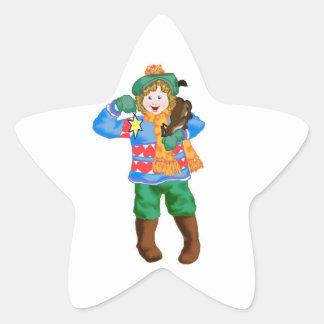 Kitty's Star Sticker