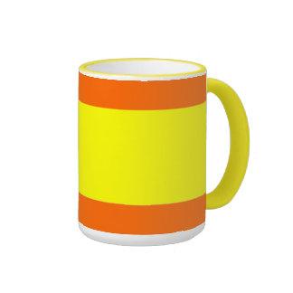 """Kitty's Stuff"" Ringer Coffee Mug"