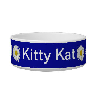 Kitty's White Daisy Garden Bowl
