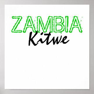 Kitwe, ZAMBIA Posters