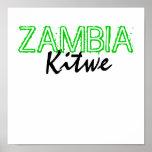 Kitwe, ZAMBIA Print