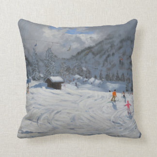 Kitzbuhel Austria 2008 Throw Pillow