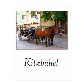 Kitzbuhel in the Tirol, Austria -- town scene Postcard