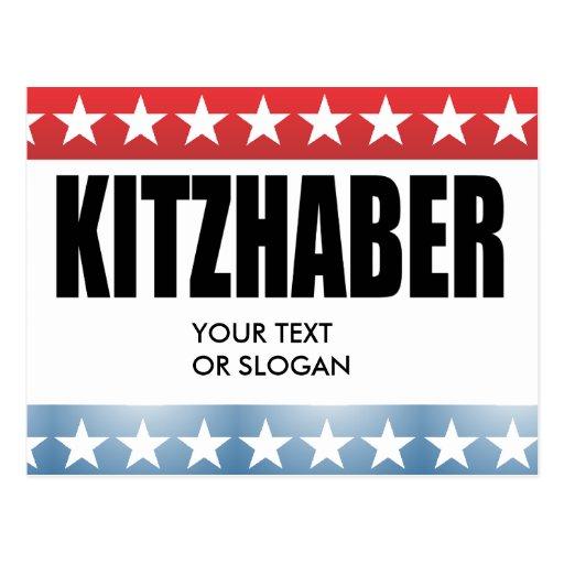 KITZHABER 2010 POSTCARD