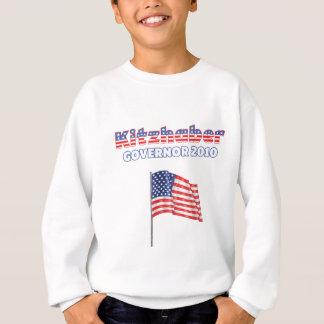 Kitzhaber Patriotic American Flag 2010 Elections Sweatshirt