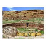 Kiva en Chetro Ketl, barranco de Chaco, New México