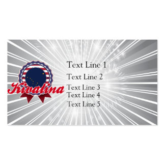 Kivalina, AK Double-Sided Standard Business Cards (Pack Of 100)