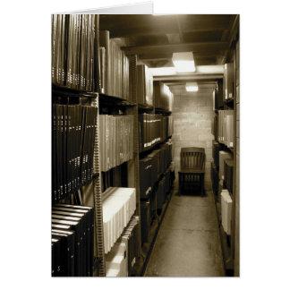 KIW Sparks: Music Manuscript Library Card