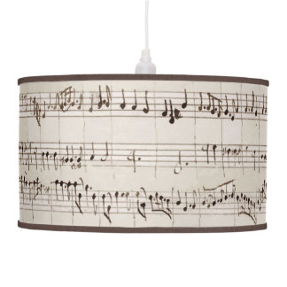 KIW Sparks: Musical Manuscript Hanging Lamp