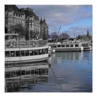 KIW Sparks: Tvl Stockholm Waterfront Poster
