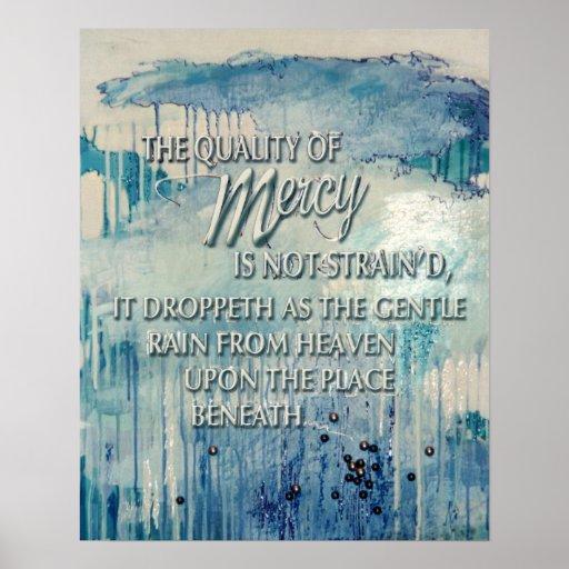 KIW Sparks: Txt Quality of Mercy Print