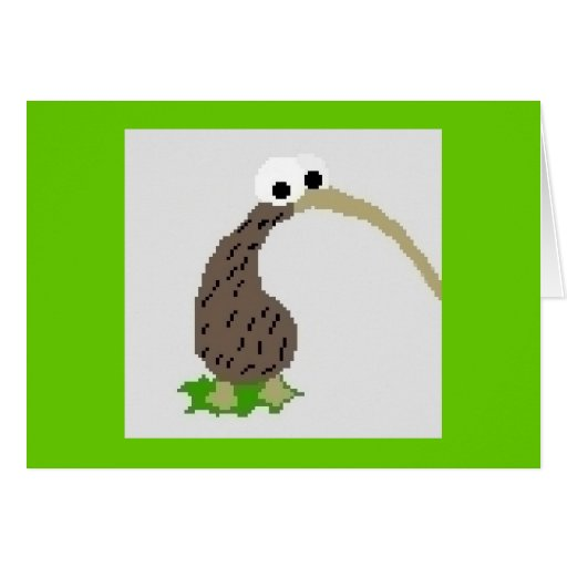 Kiwi 1 stationery note card