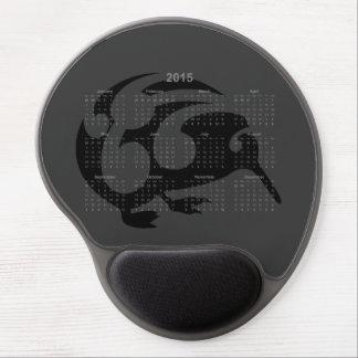Kiwi 2015 calendar mousepad gel mouse mats